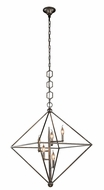 Urban Classic 1495D30AI Nora  Contemporary Aged Iron 30  Foyer Light Fixture