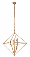 Urban Classic 1495D30GI Nora  Modern Golden Iron 30  Foyer Lighting Fixture