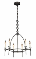 Urban Classic 1499D24BZ Celtic  Bronze Mini Chandelier Light