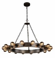 Urban Classic 1500D35AI Winston Modern Aged Iron 35  Chandelier Lighting