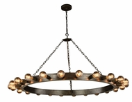 Urban Classic 1500G55AI Winston Modern Aged Iron 55  Chandelier Light