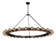 Urban Classic 1500G65AI Winston Contemporary Aged Iron 65  Chandelier Lamp
