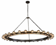 Urban Classic 1500G65VBGI Winston Modern Golden Iron & Vintage Bronze  65  Chandelier Light