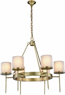 Urban Classic 1504D35BB Bradford Burnished Brass 35  Lighting Chandelier