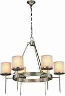 Urban Classic 1504D35VN Bradford Vintage Nickel 35  Chandelier Light