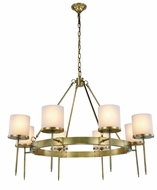 Urban Classic 1504G45BB Bradford Burnished Brass 45  Ceiling Chandelier