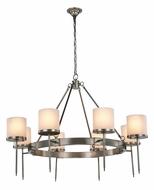 Urban Classic 1504G45VN Bradford Vintage Nickel 45  Chandelier Light