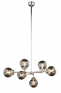 Urban Classic 1507G36PN Leda  Contemporary Polished Nickel 36  Chandelier Lighting