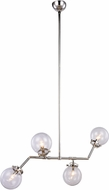 Urban Classic 1507G40PN Leda  Contemporary Polished Nickel 40  Chandelier Lamp