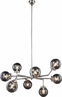 Urban Classic 1507G44PN Leda  Contemporary Polished Nickel 44  Ceiling Chandelier