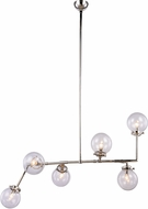 Urban Classic 1507G60PN Leda  Contemporary Polished Nickel 60  Lighting Chandelier