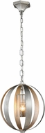 Urban Classic 1508D15SL Serenity Contemporary Vintage Silver Leaf 15 Hanging Lamp