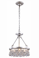 Urban Classic 1509D15SL Bettina Silver Leaf 15  Ceiling Light Pendant