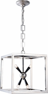 Urban Classic 1510D16PN Lexy Modern Polished Nickel and Flat Black 16  Entryway Light Fixture