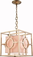 Urban Classic 1513D16BB Quatro Contemporary Burnished Brass 16  Pendant Light Fixture