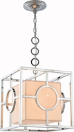 Urban Classic 1513D16PN Quatro Contemporary Polished Nickel 16  Hanging Pendant Lighting
