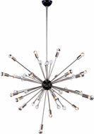 Urban Classic 1515G42PN Nebula Bronze and Polished Nickel 42  Chandelier Light