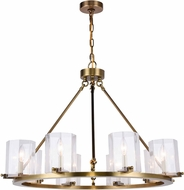 Urban Classic 1524D32BB Monterey Burnished Brass 32.5  Chandelier Lighting
