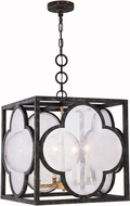 Urban Classic 1526D18ACAG Trinity Aged Copper 18  Foyer Lighting Fixture