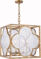 Urban Classic 1526D22GIAG Trinity Golden Iron 22  Foyer Lighting