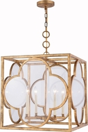 Urban Classic 1526D22GICG Trinity Golden Iron 22  Foyer Light Fixture