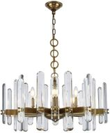 Urban Classic 1530D30BB-RC Lincoln Burnished Brass 30  Hanging Light Fixture