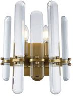 Urban Classic 1530W12BB-RC Lincoln Burnished Brass Lighting Wall Sconce