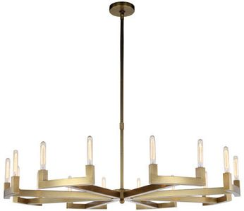 Urban Classic 1535G60BB Corsica Contemporary Burnished Brass 60 Ceiling Chandelier