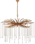 Urban Classic 1539G42DAG Willow Drizzled Antique Gold Halogen 42  Ceiling Pendant Light