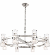 Urban Classic 1550D32PN Chateau Polished Nickel Halogen 32  Chandelier Light