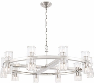 Urban Classic 1550D36PN Chateau Polished Nickel Halogen 36  Lighting Chandelier
