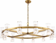 Urban Classic 1550G42BB Chateau Burnished Brass Halogen 42  Chandelier Lamp
