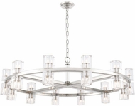 Urban Classic 1550G42PN Chateau Polished Nickel Halogen 42  Chandelier Light
