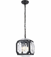 Urban Classic 1711D11FB Juno Contemporary Flat Black Mini Hanging Light Fixture