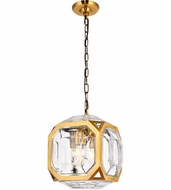 Urban Classic 1711D11LAB Juno Modern Light Antique Brass Mini Drop Lighting