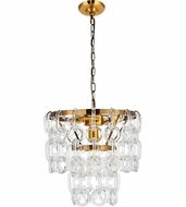 Urban Classic 1713D12LAB Eden Light Antique Brass Mini Drop Ceiling Lighting