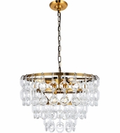 Urban Classic 1713D20LAB Eden Light Antique Brass 20  Drop Lighting Fixture