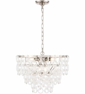 Urban Classic 1713D20PN Debutante Polished Nickel 20  Pendant Lighting