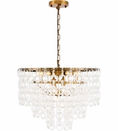 Urban Classic 1713D24LAB Debutante Light Antique Brass 24  Pendant Light