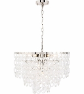 Urban Classic 1713D24PN Debutante Polished Nickel 24  Lighting Pendant
