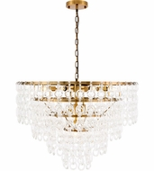 Urban Classic 1713D32LAB Debutante Light Antique Brass 32  Pendant Lamp