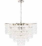 Urban Classic 1713D32PN Debutante Polished Nickel 32  Hanging Lamp