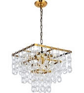 Urban Classic 1714D16LAB Eden Light Antique Brass Hanging Light