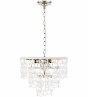 Urban Classic 1714D16PN Debutante Polished Nickel Pendant Light Fixture