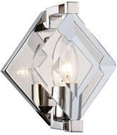 Urban Classic 4000W6PN Endicott Contemporary Polished Nickel Lighting Wall Sconce
