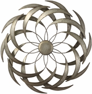 Uttermost 04161 Barnes Contemporary Spiraled Iron Wall Art