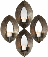 Uttermost 04164 Nina Antique Bronze Candle Sconce