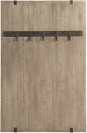 Uttermost 04165 Galway Contemporary Fir Wood Coat Rack