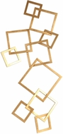 Uttermost 04169 Vida Contemporary Modern Gold Wall Art