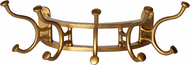 Uttermost 04214 Starling Modern Antique Brass Coat Rack